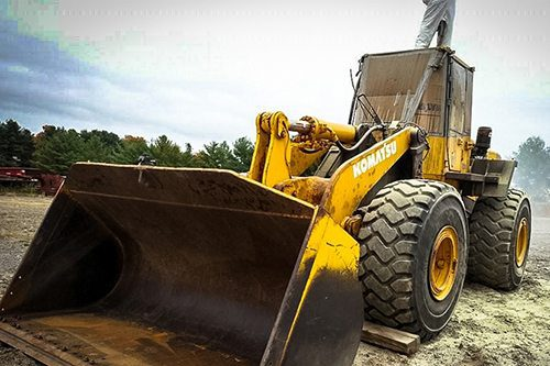 Heavy Machinery Dustless Blasting Services - Paint Removal Rust Removal