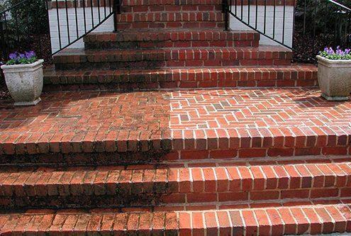 Brick Restoration Resurfacing - dustless blasting process