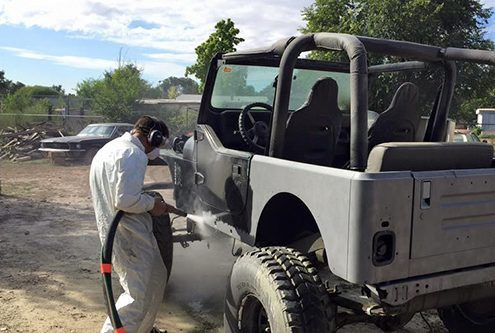 Dustless Blasting Services Cars - Auto Industry Paint Removal