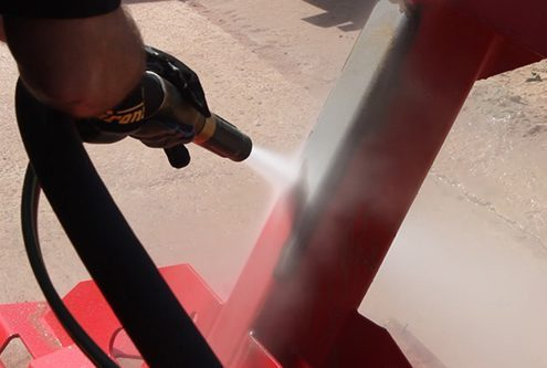 Metal Paint Removal - Dustless Blasting Technology