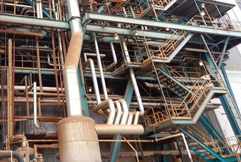 Refinery and Industrial Dustless Blasting Services - industry leaders rust removal