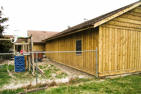 Wood Restoration Timber Shed After - Dustless Blasting Treatment