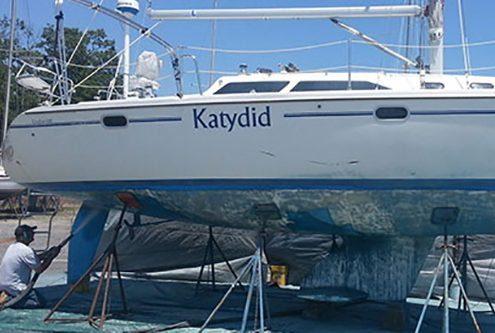 Yacht - Boat Restoration Dustless Blasting Services