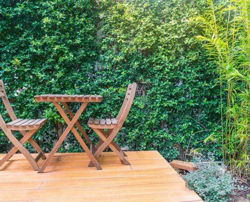 Furniture Restoration Using Dustless Blasting - remove old paint, mold, algae